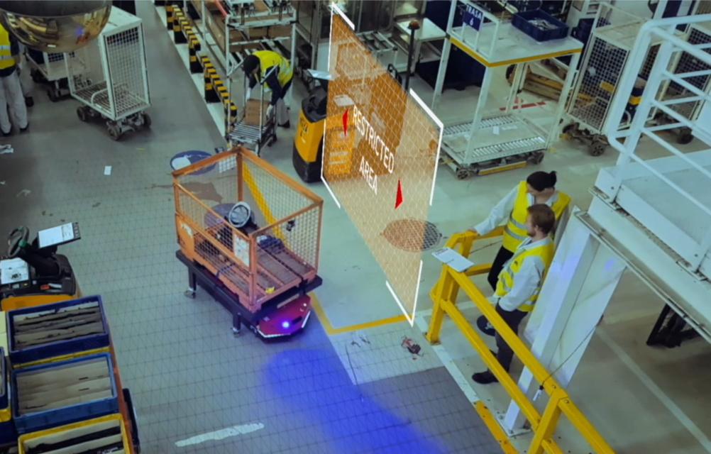 VERSABOT ZModułem Sprzęgu Automatycznego Holujący Wózek