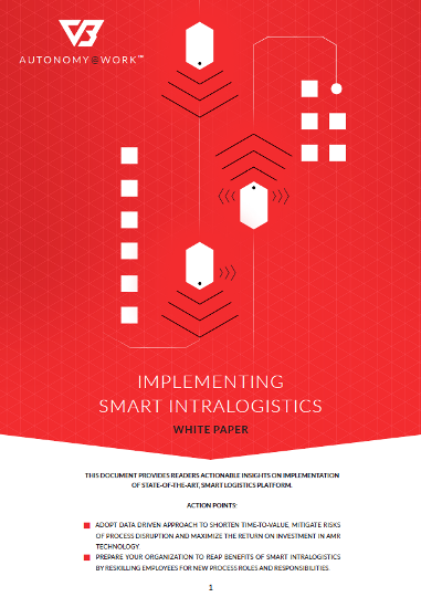 Implementing Smart Intralogistics