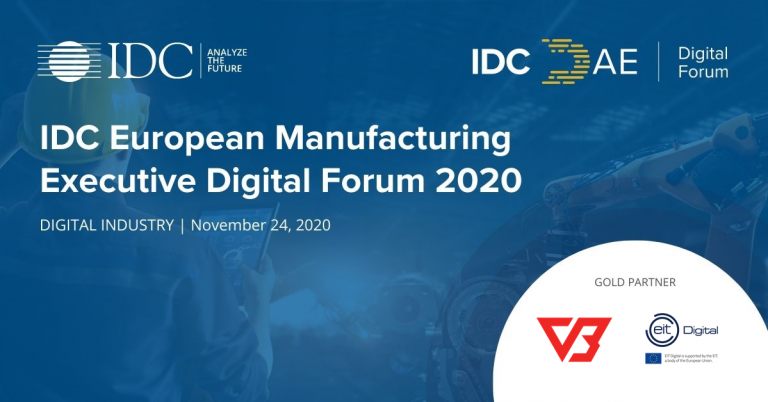 VERSABOX @  IDC EUROPEAN MANUFACTURING EXECUTIVE FORUM