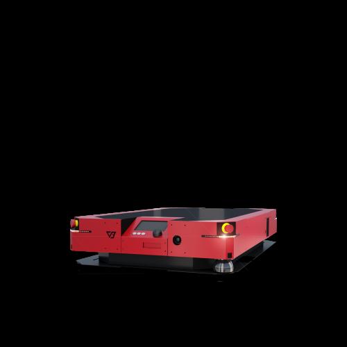 System dozarządzania flotą robotów AGV